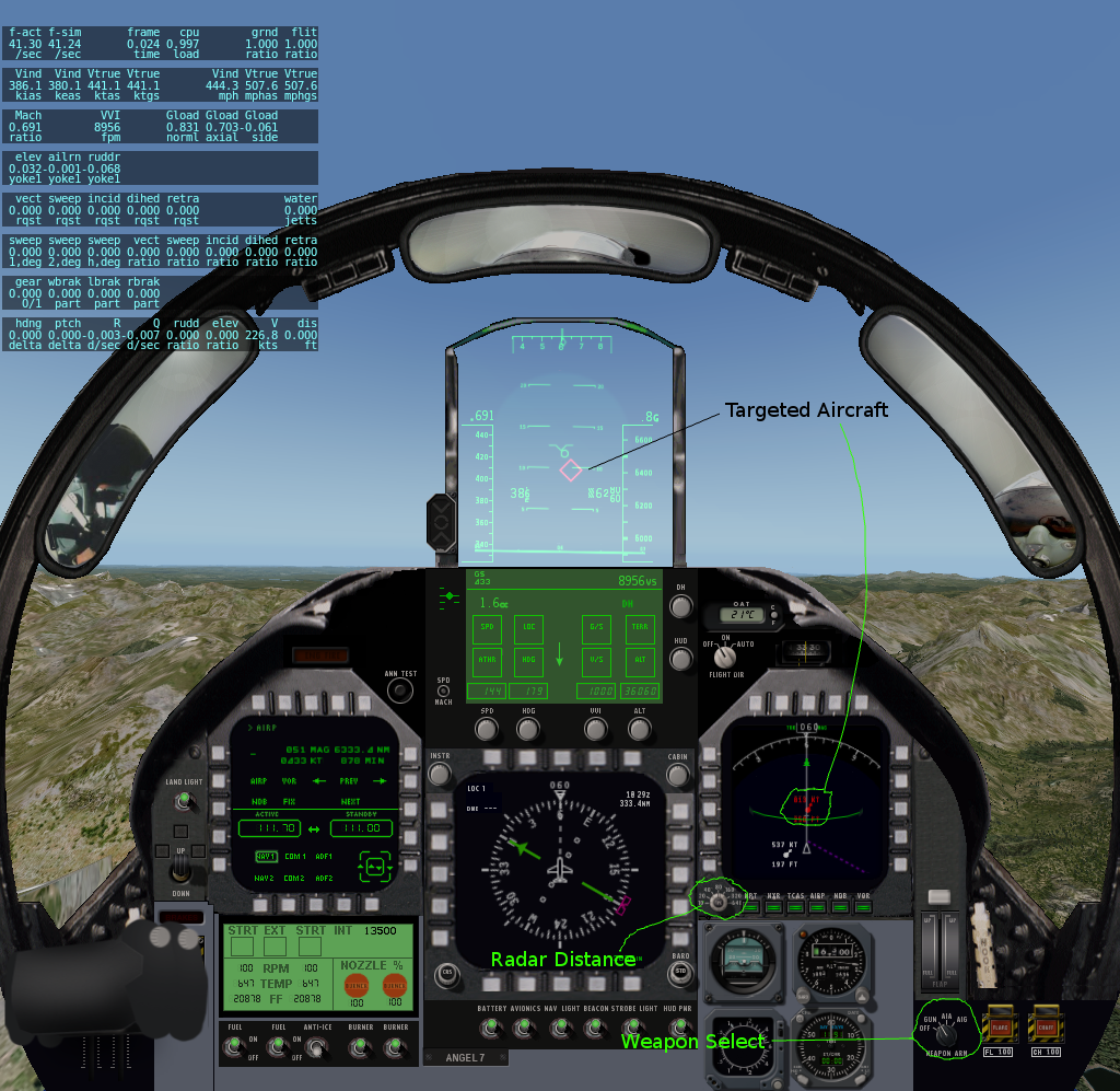 combat in x plane weapon setup enemy aircraft and targeting rh defuse ca X-Plane 7 x plane 9 manuel francais