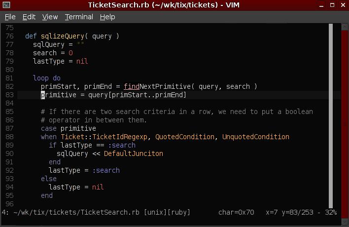 My  vimrc - Defuse Security